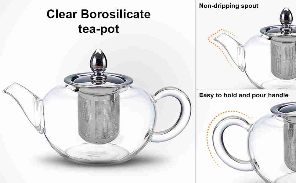 Glass Teapot and Loose Leaf Infuser Review