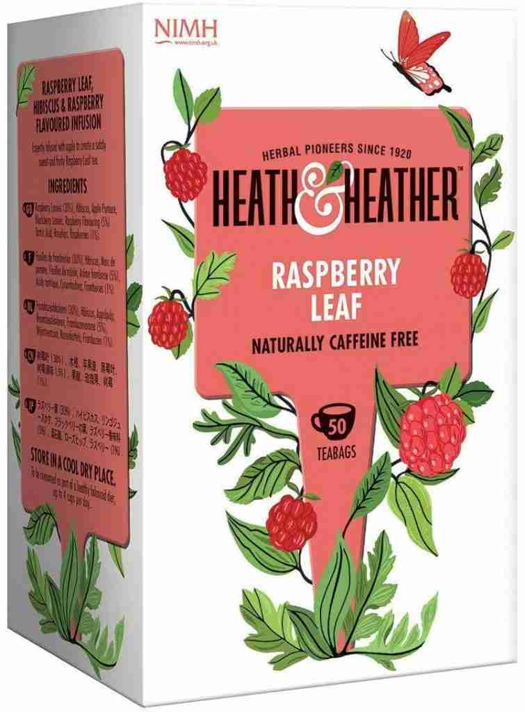 Health & Healthier Raspberry left infusion tea